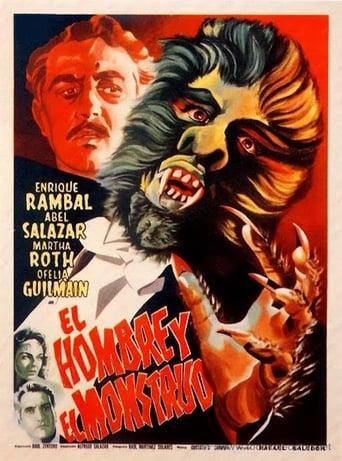 Poster of The Man and the Monster