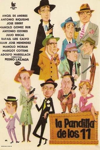 Poster of La pandilla de los once