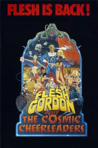 Poster of Flesh Gordon meets the Cosmic Cheerleaders