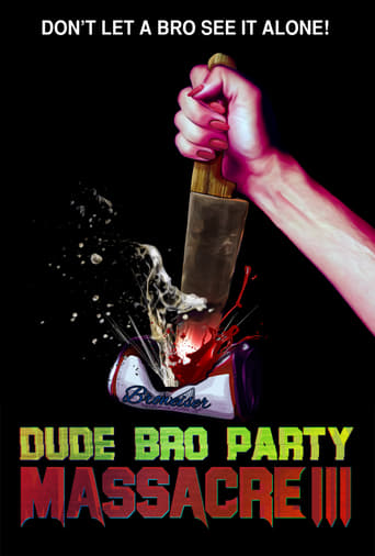 Poster of Dude Bro Party Massacre III