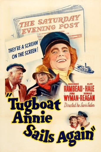 Poster of Tugboat Annie Sails Again
