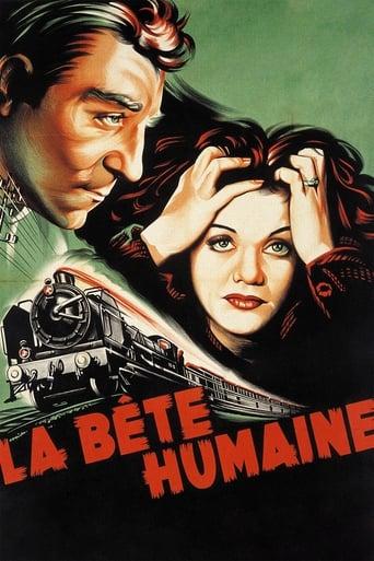Poster of La Bête Humaine