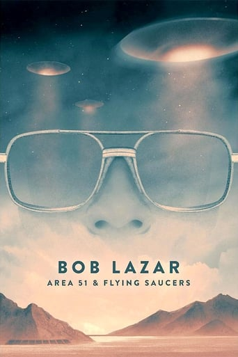 Poster of Bob Lazar: Area 51 and Flying Saucers