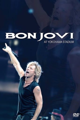 Poster of Bon Jovi at Yokohama Stadium