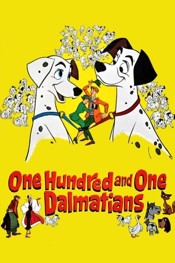 Poster of One Hundred and One Dalmatians