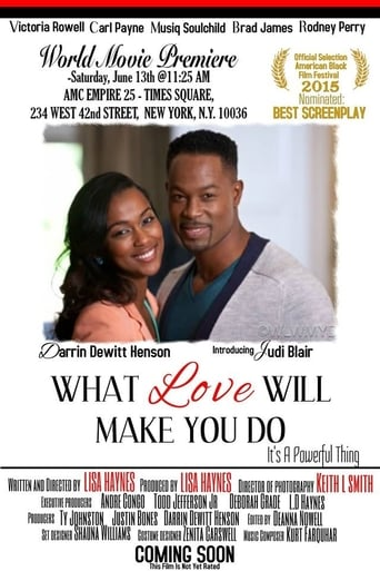 Poster of What Love Will Make You Do