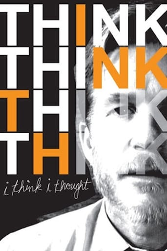 Poster of I Think I Thought