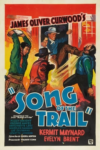Poster of Song of the Trail