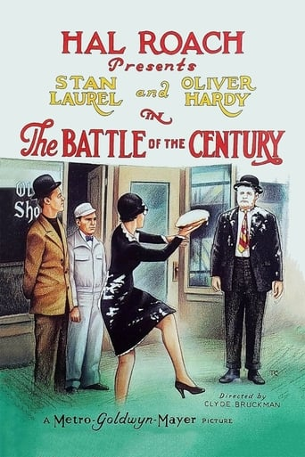 Poster of The Battle of the Century