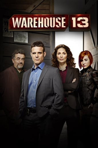 Poster of Warehouse 13
