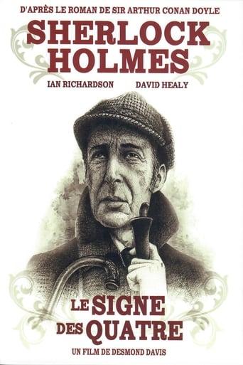 Poster of Sherlock Holmes - Le signe des quatre