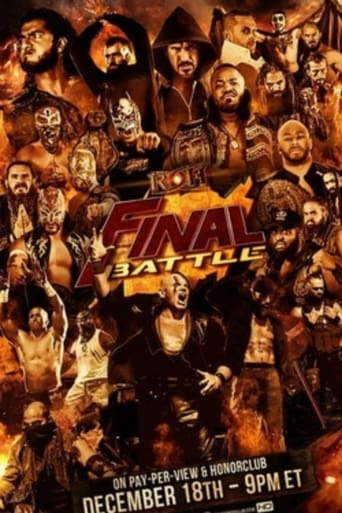 Poster of ROH Final Battle 2020