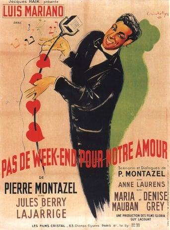 Poster of Pas de week-end pour notre amour