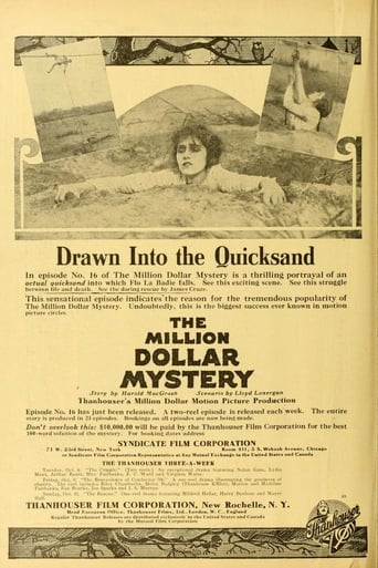 Poster of The Million Dollar Mystery