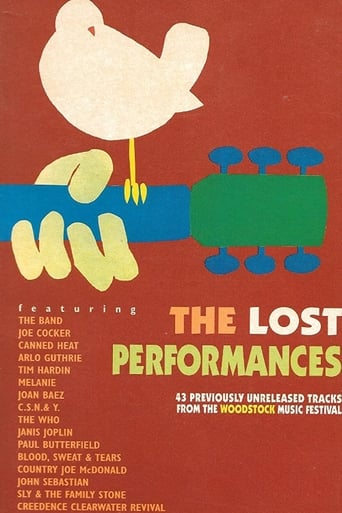 Poster of Woodstock: The Lost Performances