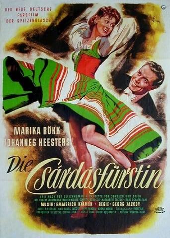 Poster of Die Csardasfürstin