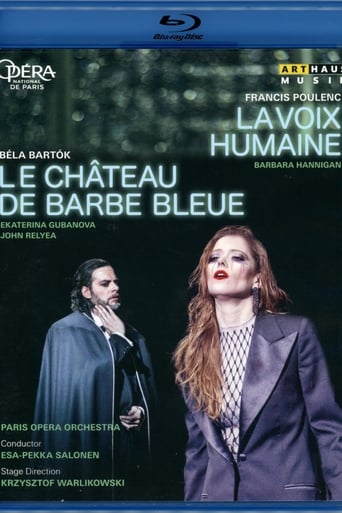 Poster of Poulenc:  The Human Voice - Bartók:  Bluebeard's Castle