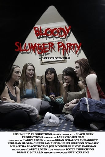 Poster of Bloody Slumber Party