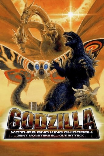 Poster of Godzilla, Mothra and King Ghidorah: Giant Monsters All-Out Attack