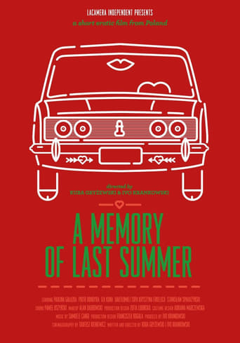 Poster of A Memory of Last Summer