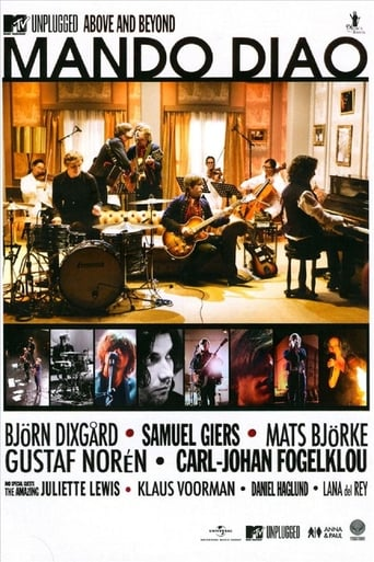 Poster of Mando Diao: MTV Unplugged - Above and Beyond