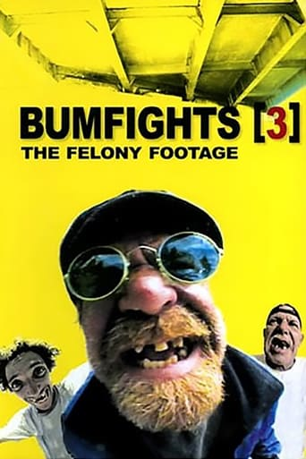 Poster of Bumfights 3: The Felony Footage