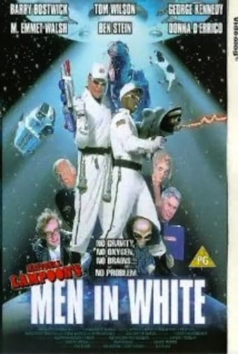 Men in White poster