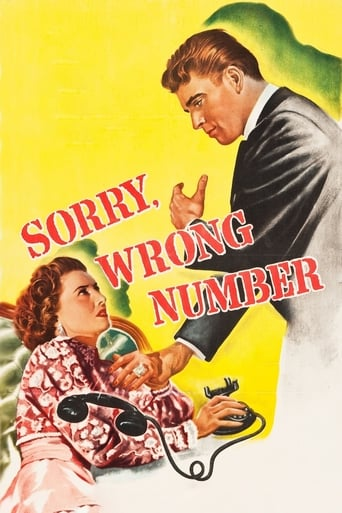 Poster of Sorry, Wrong Number