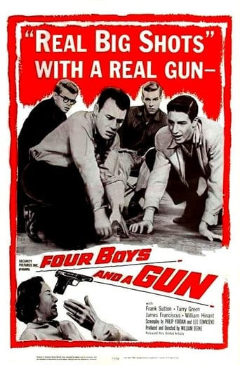Poster of Four Boys and a Gun