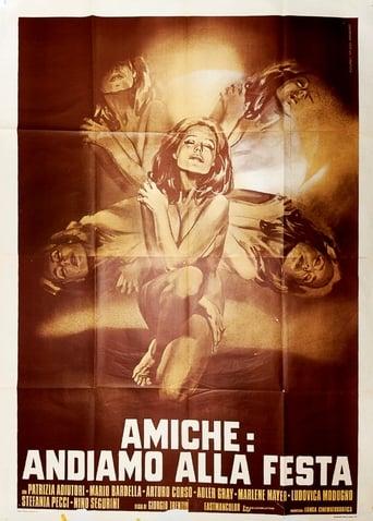 Poster of Amiche: andiamo alla festa
