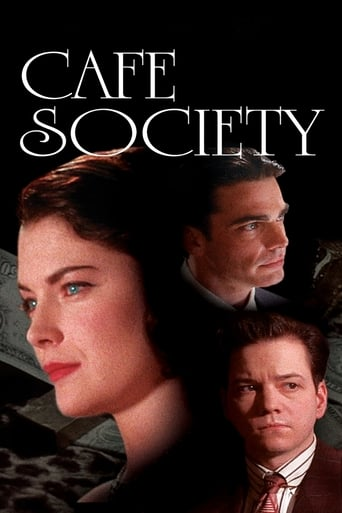 Poster of Cafe Society