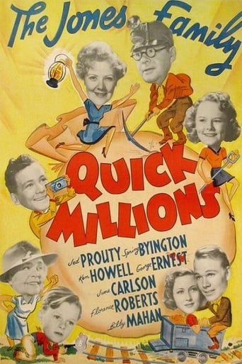 Poster of Quick Millions