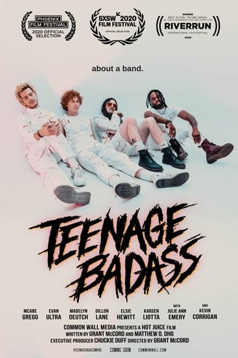 Poster of Teenage Badass