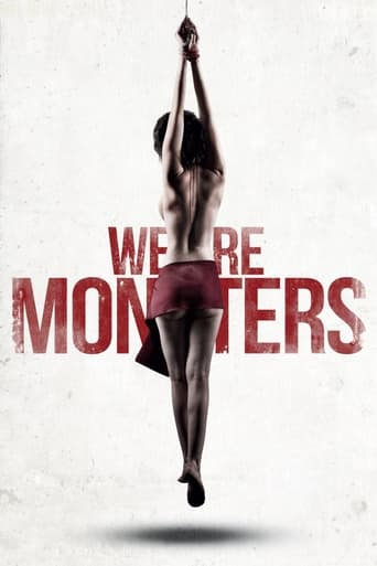 Poster of We Are Monsters