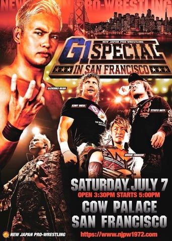 Poster of NJPW G1 Special In San Francisco