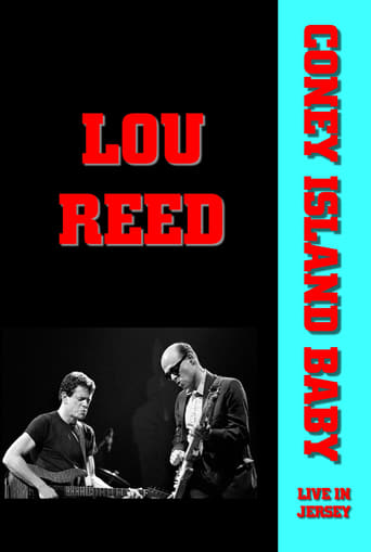 Poster of Coney Island Baby: Lou Reed Live in Jersey