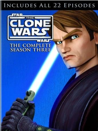 Star Wars The Clone Wars 3ª Temporada - Poster