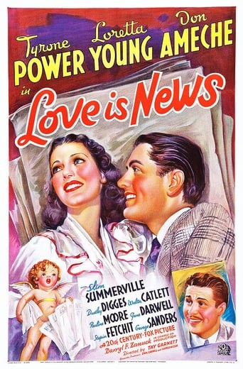 Poster of Love Is News