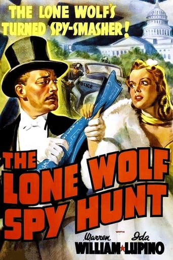 Poster of The Lone Wolf Spy Hunt