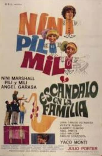 Poster of Escándalo en la familia