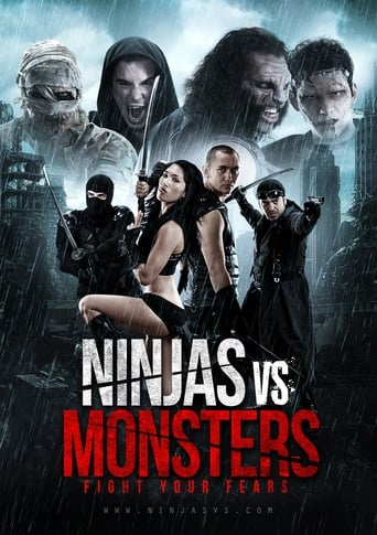 Poster of Ninjas vs. Monsters