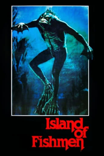 Poster of Island of the Fishmen