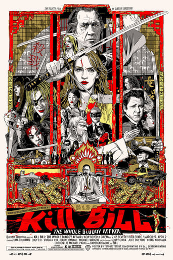 Poster of Kill Bill: The Whole Bloody Affair