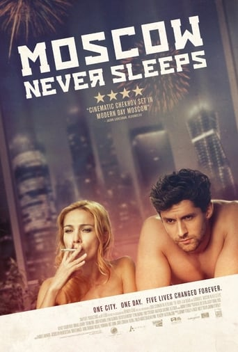 Poster of Moscow Never Sleeps