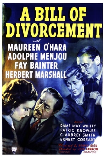 Poster of A Bill of Divorcement