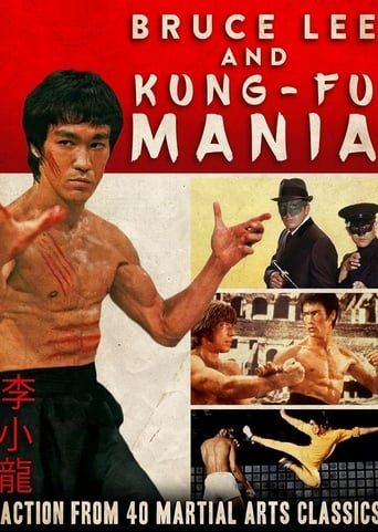 Poster of Bruce Lee and Kung Fu Mania