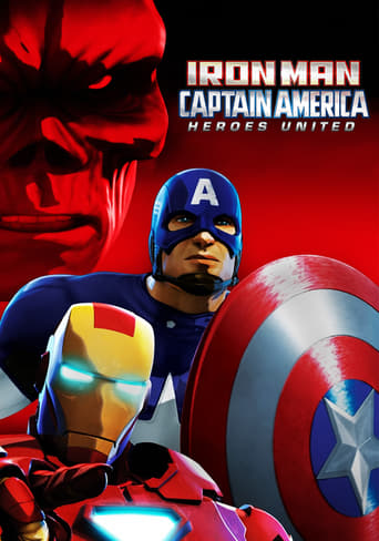 Poster of Iron Man & Captain America: Heroes United
