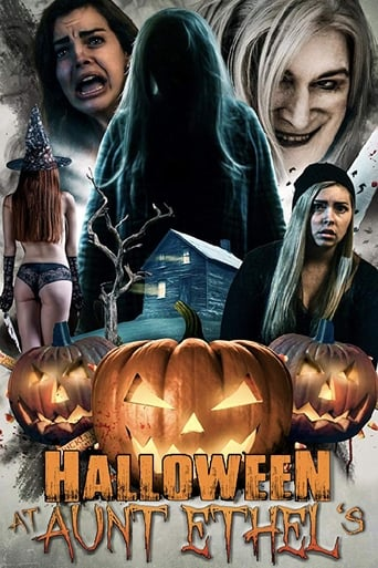 Poster of Halloween at Aunt Ethel's