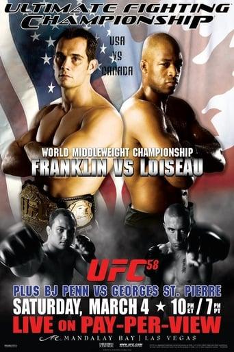Poster of UFC 58: USA vs. Canada
