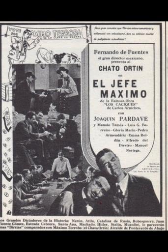Poster of El jefe máximo